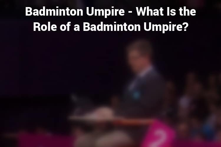 Feature Image Badminton Umpire