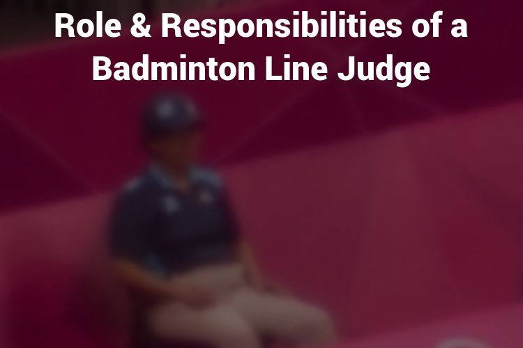 Featured Image Badminton Line Judge